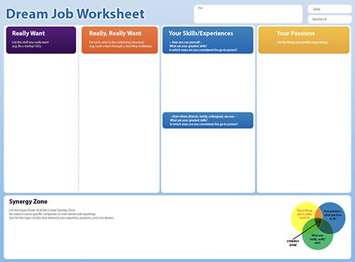 dream-job-worksheet